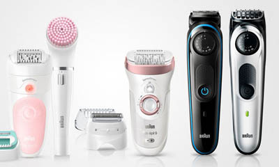 Free Braun Male Styling & Female Hair Removal Devices