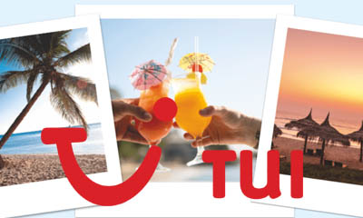 WIn £2,000 Travel Vouchers with Tui