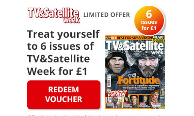 6 issues of TV&Satellite Week for £1