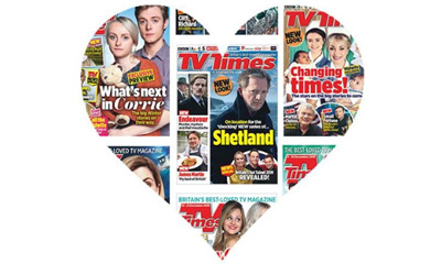 6 issues of TV Times for £1