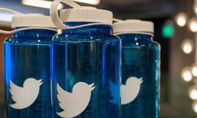Free Twitter Water Bottles