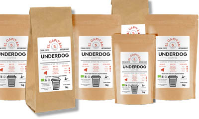 Free Underdog Coffee Sample