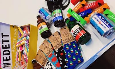 Free Vedett Beer Swag Bag of Goodies
