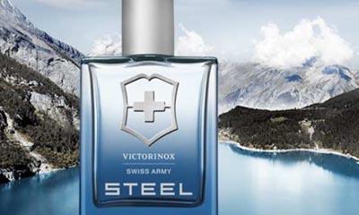 Free Victorinox Swiss Army Steel Perfume