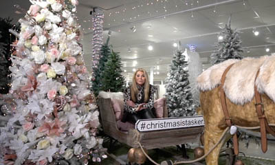 Win a 7ft Christmas Tree, 1000 Lights & £250 of Decorations