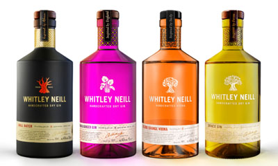Free Bottles of Whitley Neill Gin