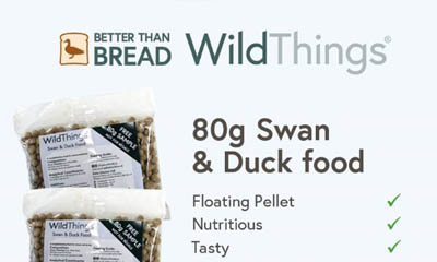 Free Swan & Duck Food from Wild Things