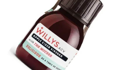 EXPIRED - Free Willys Apple Cider Vinegar