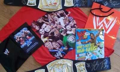 Free WWE WrestleMania Goody Bags