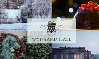 Win a 2 Night Christmas Stay at Wynyard Hall