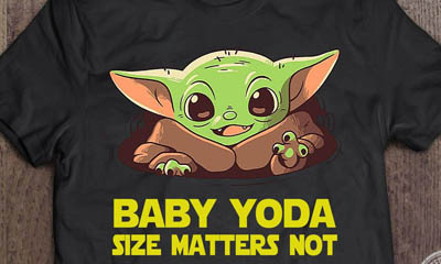 Free Baby Yoda T-Shirt (Worth £9.99)
