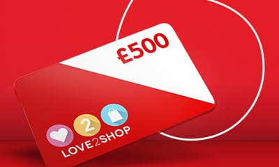 Win 1 of 12 £500 Love2Shop Vouchers with Vodafone