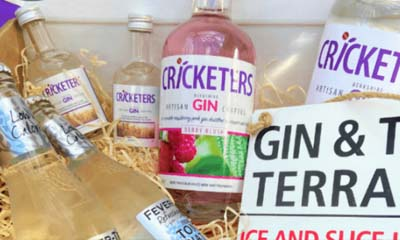 Win 1 of 3 Cricketers Gin Hamper