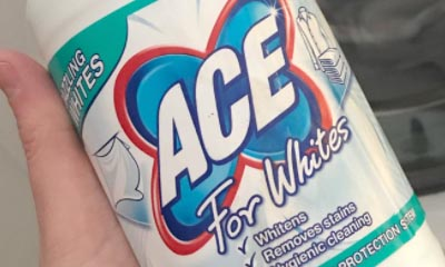 Free Ace for Whites Stain Remover