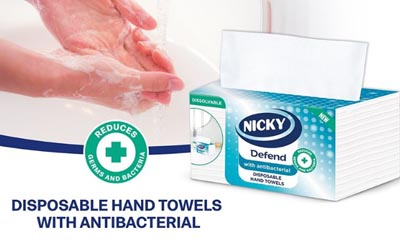 Free Anti-Bacterial Hand Towels