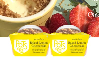 Win Baked Lemon Cheesecake Puddings