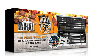 Win a Barbecue Tool Set with Kikkoman