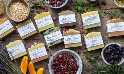Win a selection of natural soap