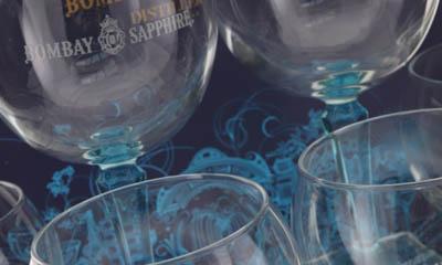 Free Bombay Sapphire Glasses