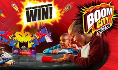Win 1 of 5 Boom City Racers Bundles