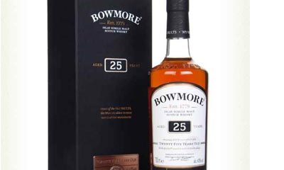 Win a Bottle of Bowmore Whisky