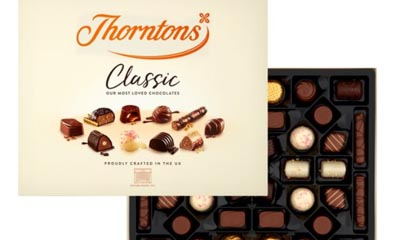 Free Box of Thorntons Classics