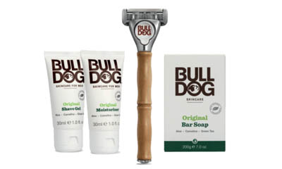 Free Bulldog Razor and Care Package