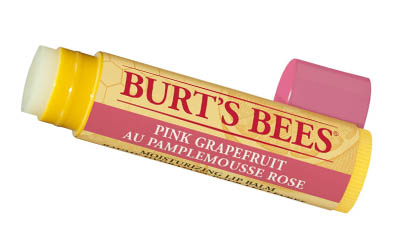 Free Burt's Bee's Pink Grapefuit Lip Balm