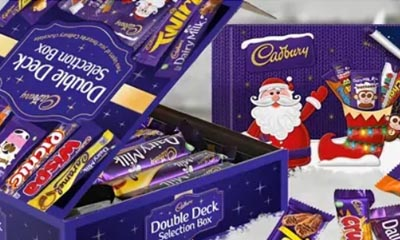Free Cadbury Double Deck Selection Boxes