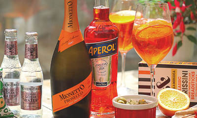 Win a Case Of Prosecco & An Aperitivo Box
