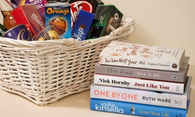Win a Christmas bundle of food and books