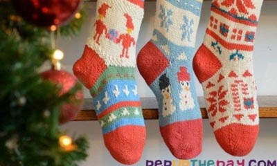 Win a Christmas stocking