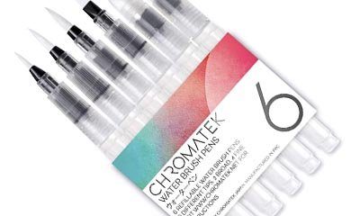 Free Chromatek Water Brush Pens