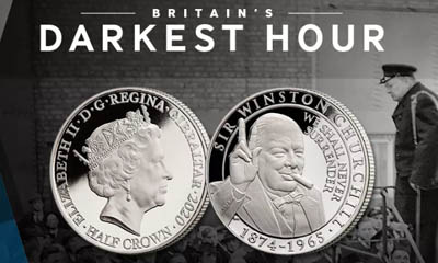 Free Churchill 'Darkest Hour' Coin