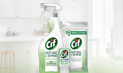 Free Cif Anti-Bac & Shine Set