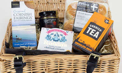 Free Cornish Cream Tea Hampers