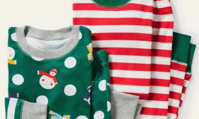 Cosy Kids Snowmen Xmas Twin Pack of PJs