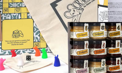 Win a Crackerdash Board Game & Chutney Jars