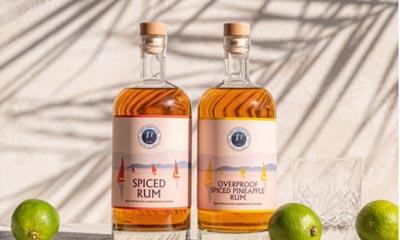 Win 2 Devon spiced rum bottles