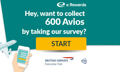 600 Free British Airways Avios Points
