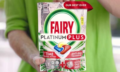 Free Fairy Platinum Plus Dishwasher Tablets