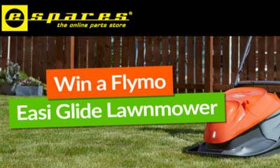 Win a Flymo Easi Glide Lawnmower