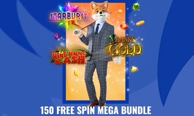 150 Free Spins Mega Bundle