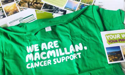 Free Macmillan 'Your Walk' T-Shirt