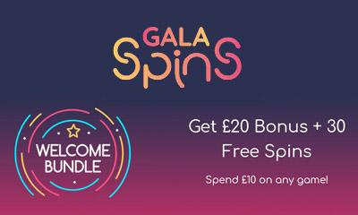 Get £20 Bonus + 30 Free Spins