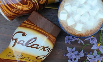 Free Galaxy Hot Chocolate