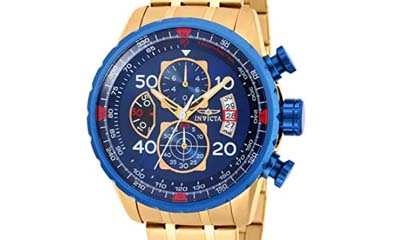 £129 for Invicta Aviator Men's Wrist Watch