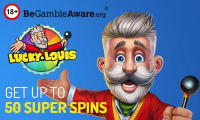 Get Up to 50 Super Spins