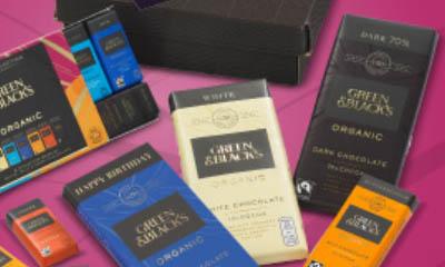 Free Green & Blacks Birthday Chocolate Gifts
