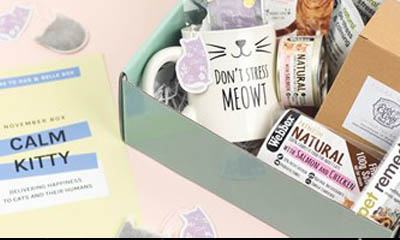 Win 1 of 5 Gus & Bella Cat Subscription Boxes